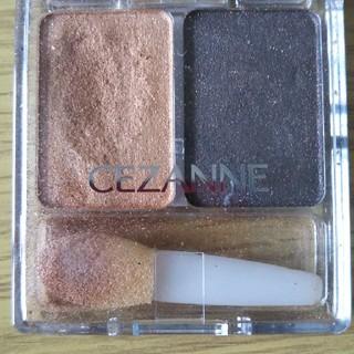 セザンヌケショウヒン(CEZANNE(セザンヌ化粧品))のセザンヌ アイシャドウ ブラウン(アイシャドウ)