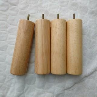 ムジルシリョウヒン(MUJI (無印良品))の無印良品 脚 4本セット(脚付きマットレスベッド)