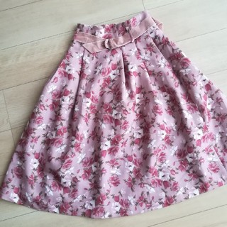 dazzlin - dazzlin 花柄スカート