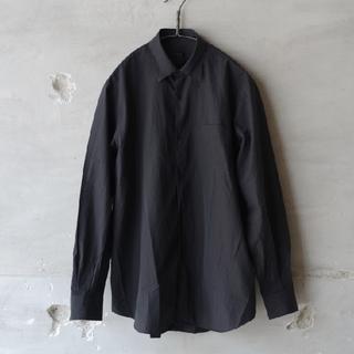 COMOLI - 19SS 新品 COMOLI コモリシャツ 黒 サイズ2 シャツ