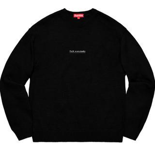 Supreme - 新品 Supreme fuck everybody sweater L