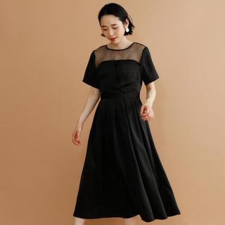 merlot - ★ merlot 新品未使用 ビスチェ風ワンピース ドレス ブラック