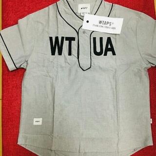 W)taps - WTAPS LEAGUE 19SS SHIRT GRAY シャツ 3
