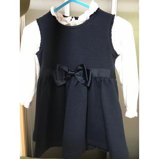シマムラ(しまむら)の女の子95センチ フォーマルワンピース セット(ドレス/フォーマル)