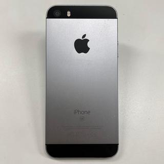 iPhone - 中古 ☆ SIMロック解除済 iPhoneSE 64GB スペースグレー