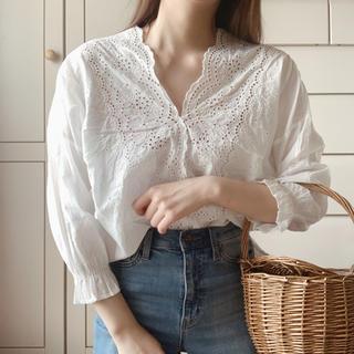 IENA SLOBE - vintage blouse ③