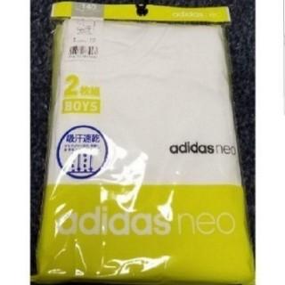 adidas - adidas アディダス 140cm 半袖Tシャツ ロゴ入 吸汗速乾 2枚セット