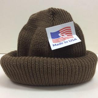 ロスコ(ROTHCO)のロスコニット帽 コヨーテ 新品 アクリルニット帽(ニット帽/ビーニー)