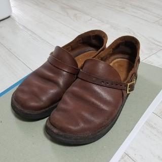 アウロラ(AURORA)のオーロラシューズ ミドルイングリッシュ  24-25cm(ローファー/革靴)