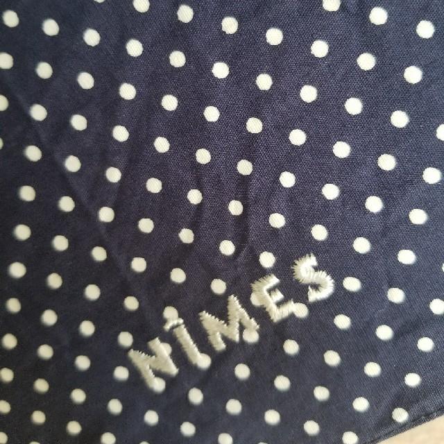 mina perhonen(ミナペルホネン)のNIMESニーム/小さなドットネイビーの晴雨両用折り畳み傘 レディースのファッション小物(傘)の商品写真