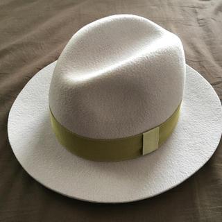 トゥモローランド(TOMORROWLAND)のLa cerise sur le chapeau フェルトハット(ハット)
