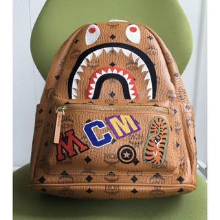 MCM - MCM × BAPE SHARK STARK BACKPACK バックパック