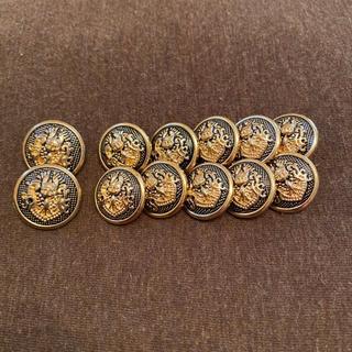 メタルボタン(エンブレム・紋章)