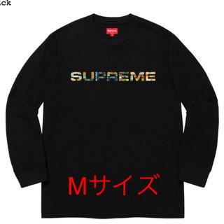 Supreme - Meta Logo L/S Top  supreme M 黒 新品