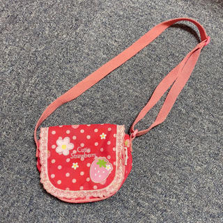 マザーガーデン 苺柄ミニポシェット(ポシェット)