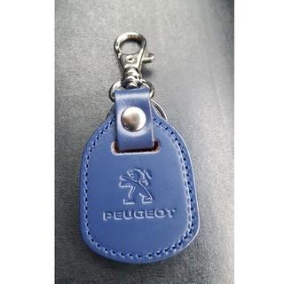 プジョー(Peugeot)のPEUGEOT 革製キーホルダー  キーリング(キーホルダー)