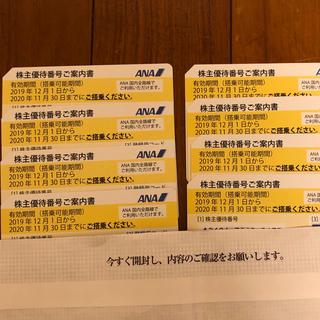 ANA(全日本空輸) - ANA 全日空 株主優待 8枚