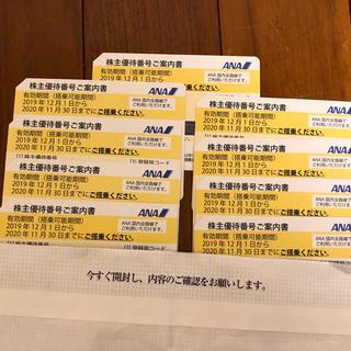 ANA(全日本空輸) - ANA 全日空 株主優待 9枚
