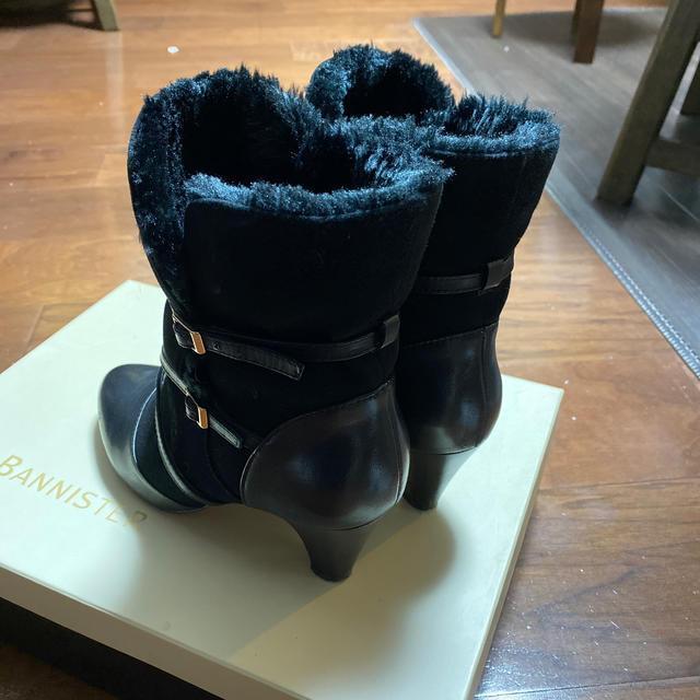 AU BANNISTER(オゥバニスター)の★美品★AU BANNISTER★ブーツ★ムートン★24cm★黒★ レディースの靴/シューズ(ブーツ)の商品写真