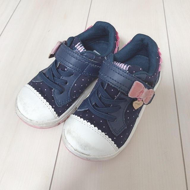 MOONSTAR (ムーンスター)のスニーカー キッズ/ベビー/マタニティのキッズ靴/シューズ(15cm~)(スニーカー)の商品写真