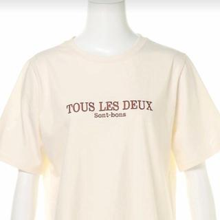 スピンズ(SPINNS)のSPINNS ロゴ刺繍Tシャツ(Tシャツ(半袖/袖なし))