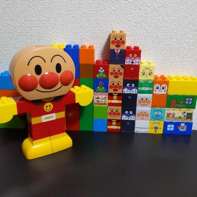 アンパンマンブロック キッズ/ベビー/マタニティのおもちゃ(知育玩具)の商品写真