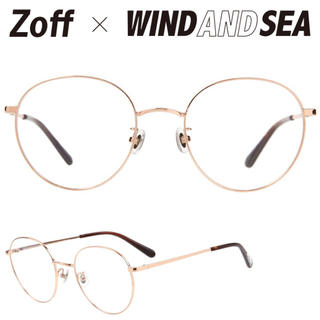 Zoff - Zoff×WIND AND SEA メガネ サングラス 新品