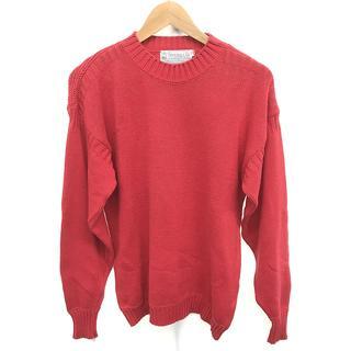 INVERALLAN - インバーアラン クルーネック ニット セーター サイズ 40 L 赤