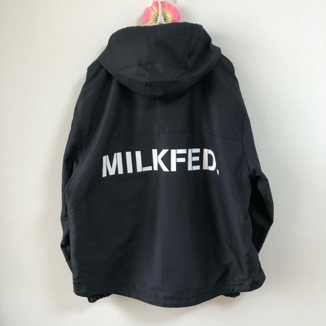 MILKFED.(ミルクフェド)の美品 ミルクフェド フード付き ブルゾン レディースのジャケット/アウター(ブルゾン)の商品写真