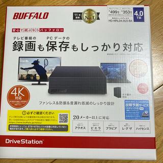 Buffalo - 【新品未開封】バッファロー外付けHDD 4TB HD-NRLD4.0U3-BA