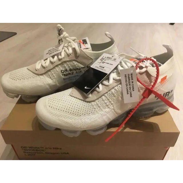 OFF-WHITE(オフホワイト)のNIKE OFF-WHITE AIR VAPORMAX 27cm メンズの靴/シューズ(スニーカー)の商品写真