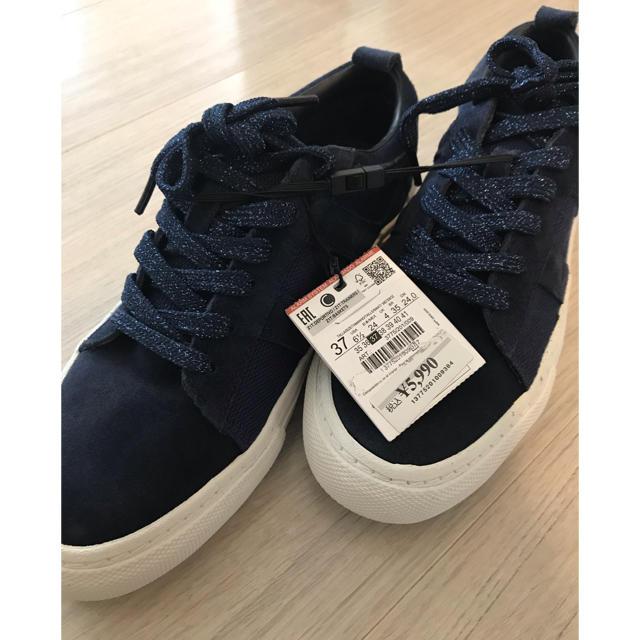 ZARA(ザラ)のザラ ZARA レディース スニーカー 新品 レディースの靴/シューズ(スニーカー)の商品写真