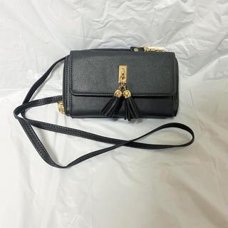 シマムラ(しまむら)のしまむら 財布型ポーチ 黒(ポーチ)