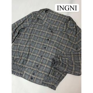 INGNI - イング INGNI チェックシャツ ブラウス 美品 M