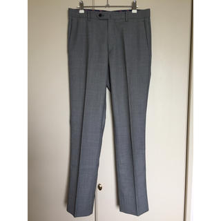 【1】ORIHICA オリヒカ スラックス パンツ グレー ブラック 黒