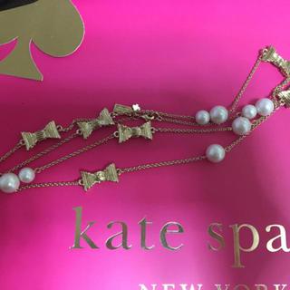 ケイトスペードニューヨーク(kate spade new york)のケイトスペード新品ネックレス♡(ネックレス)