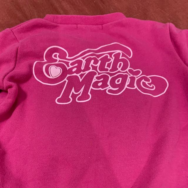 EARTHMAGIC(アースマジック)の美品アースマジック 110センチ  キッズ/ベビー/マタニティのキッズ服女の子用(90cm~)(Tシャツ/カットソー)の商品写真