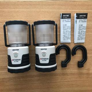 ジェントス(GENTOS)のジェントス 036C 2個セット(ライト/ランタン)