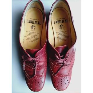 アンビリカル(UNBILICAL)のUNBILICAL 赤レザーローファー(ローファー/革靴)