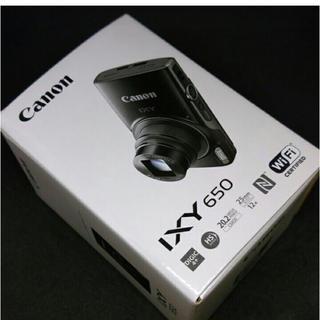 Canon - 送料無料! キヤノン Canon IXY650 シルバー Wi-Fi 新品未使用