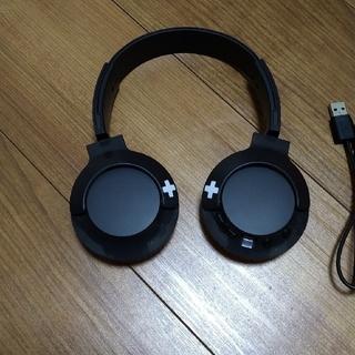 フィリップス(PHILIPS)のPhilips BASS+ SHB3075BK ワイヤレスヘッドホン ブラック(ヘッドフォン/イヤフォン)