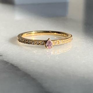 ピンクダイヤモンド K18YG  リング(リング(指輪))