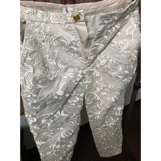 Lily Brown - リリーブラウン  チュール 刺繍 パンツ