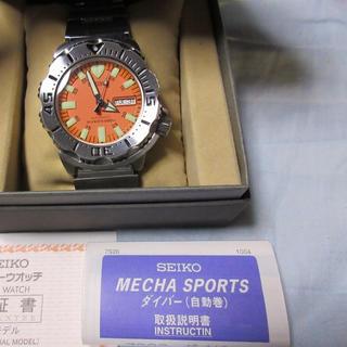 セイコー(SEIKO)のSEIKO モンスター ダイバー オレンジモンスター 7S26-0350(腕時計(アナログ))
