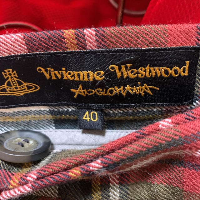 Vivienne Westwood(ヴィヴィアンウエストウッド)のVivienne Westwood タータンチェック スカート レディースのスカート(ミニスカート)の商品写真