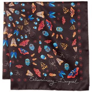デシグアル(DESIGUAL)の新品★DESIGUAL(デシグアル)スカーフ ブラック(バンダナ/スカーフ)
