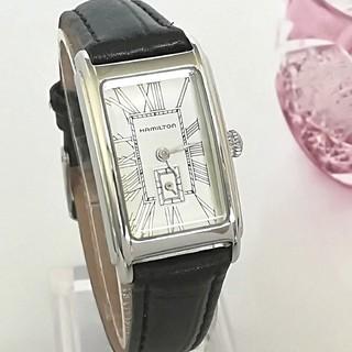 Hamilton - 綺麗 ハミルトン レディースウォッチ 時計 ローマン 入学式 プレゼント 極美品