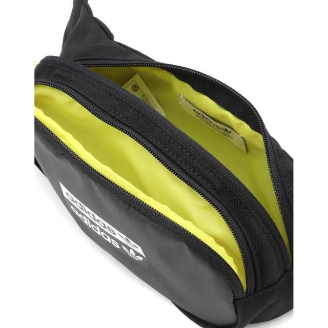 adidas(アディダス)のアディダス オリジナルス ウエストポーチ ユニセックス ブラック レディースのバッグ(ボディバッグ/ウエストポーチ)の商品写真
