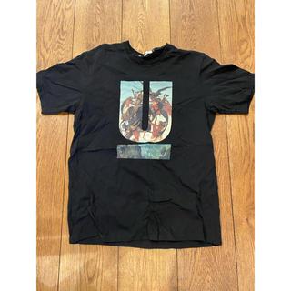 アンダーカバー(UNDERCOVER)のアンダーカバー Tシャツ サイズ 4 xl 黒 ブラック 半袖シャツ (Tシャツ/カットソー(半袖/袖なし))