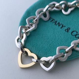 Tiffany & Co. - Tiffany ハートリンクブレスレット 美品